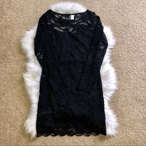 H&M Divided Lace Dress